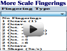 More Scale Fingerings Movie